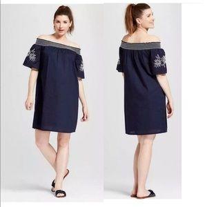 3/$20 NWT Maternity off the shoulder dress E21